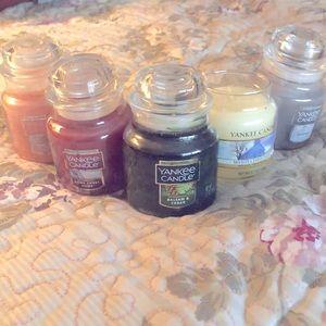 Bundle Yankee Candle Small Jars